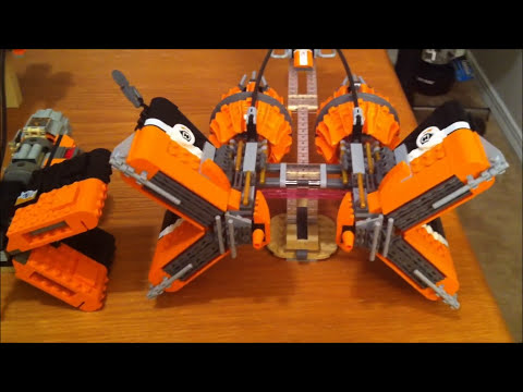 LEGO 7962 7171 Anakin's & Sebulba's Podracers Mos Espa Podrace LEGO Star Wars Comparison Review