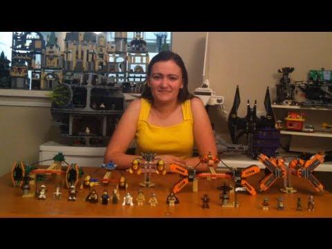 LEGO 7962 7171 Anakin's & Sebulba's Podracers Mos Espa Podrace LEGO Star Wars Comparison Review