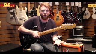 Fender - Modern Player Starcaster Demo at GAK