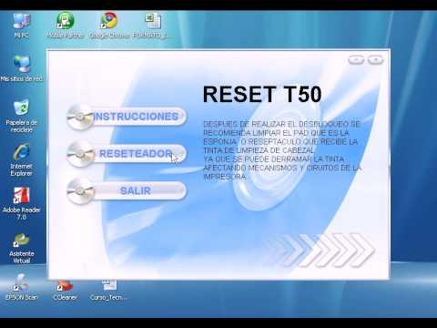 Epson p50 adjustment program скачать бесплатно - 7
