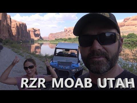 Road Trip Stop #3: Moab Utah Polaris RZR Rock Crawling Adventure (What To Do In Moab Utah!)