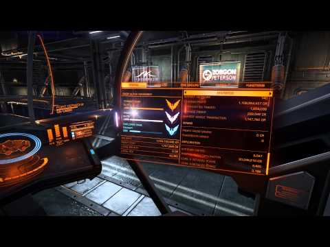 Elite Dangerous, results from 2nd exploration trip