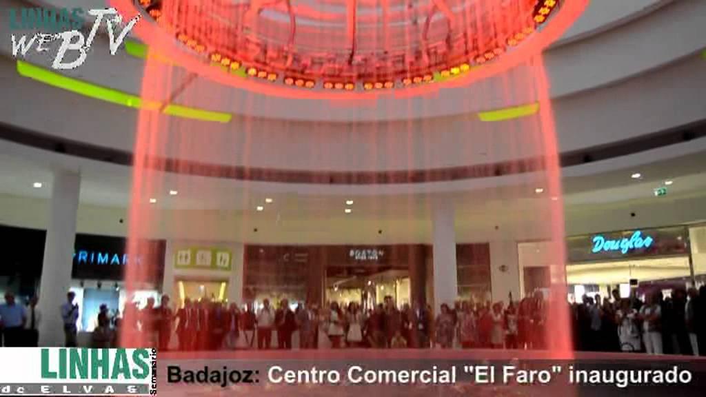 Centro comercial el faro inaugurado em badajoz youtube - Centro comercial moda shoping ...
