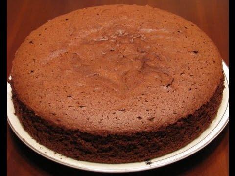 Шоколадно-шифоновый бисквит