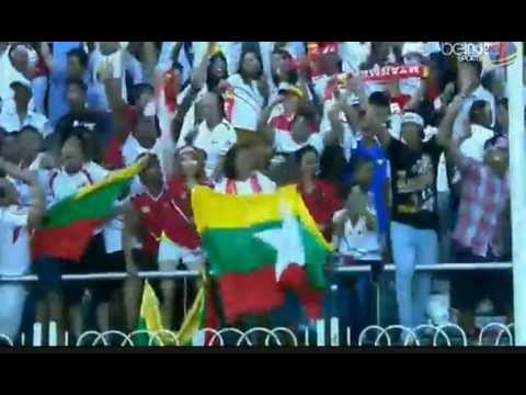 Euphoria Myanmar Fans And Myanmar Player When Win Vs Uea video