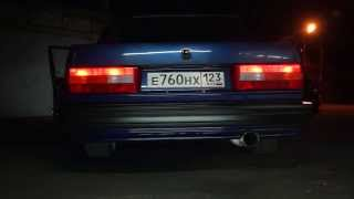 exhaust sound VOLVO 760 B230 16v turbo
