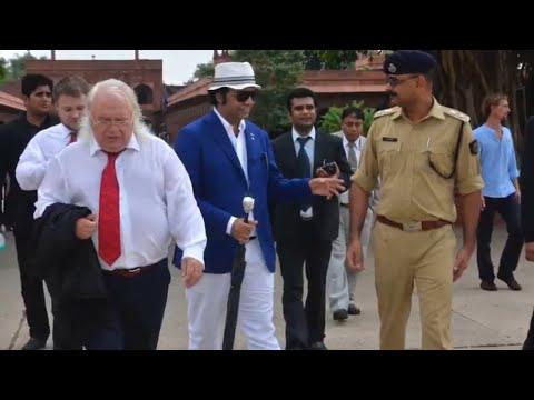 Prof Petrik visit TajMahal with WFR President 23rd july 2014