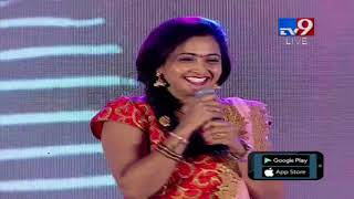 Actress Laasya speech @ MLA Audio Launch