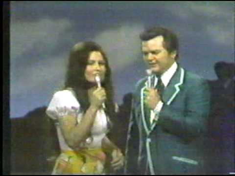 Heartache Tonight Conway Twitty Album Cover. Loretta Lynn and Conway Twitty