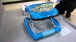 【GALYBABY】金龜車造型學步車整體組裝示範