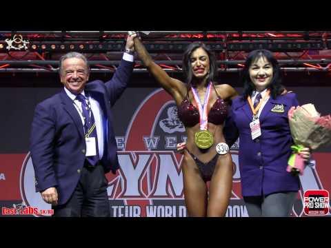 2016 Olympia Amateur Moscow Bikinifitness OVERALL