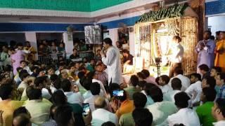 Sanju Sharma Ekadashi Kirtan यहाँ किसको कहे अपना सभी कहने Dt 04.07.17 @ Mitra Mandal khatu Shyam ji