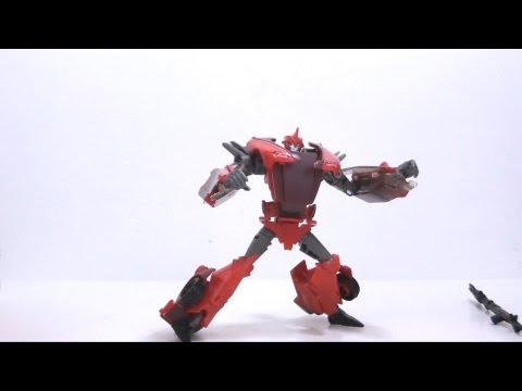 Video Review of the Transformers Prime (RiD) Deluxe Class: Knock Out