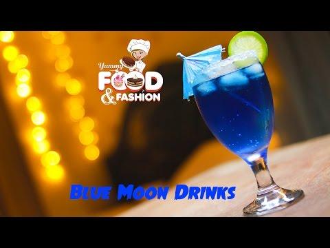Blue Moon Drinks || ব্লু মুন ড্রিঙ্কস - Quick Easy & simple