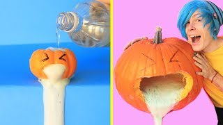TRYING 23 EASY AND COOL DIY HALLOWEEN DECOR IDEAS by 5 Minute Crafts