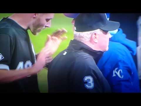 Kansas City Royals vs Chicago bench clearing brawl