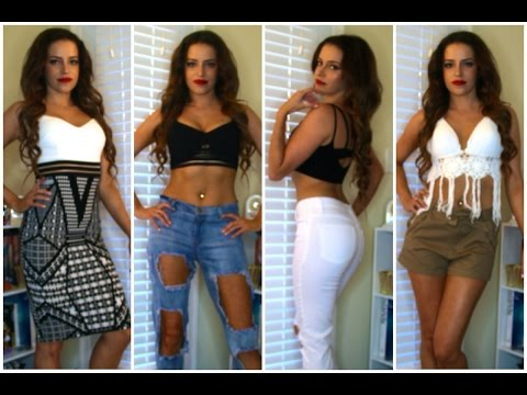 Fashion Nova Jeans Haul TRY ON HAUL FASHION NOVA