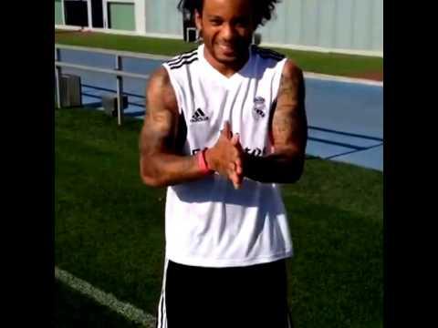 Marcelo Real Madrid Ice Bucket Challenge