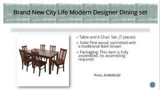 (1.52 MB) Top 10 Modern Dining Tables in Australia Mp3