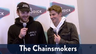 Backstage with The Chainsmokers at Jingle Ball 2016! | KiddNation