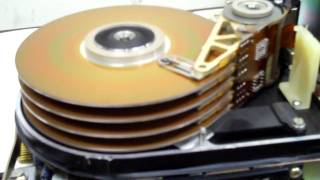 72 MB Hard Drive spinning up...