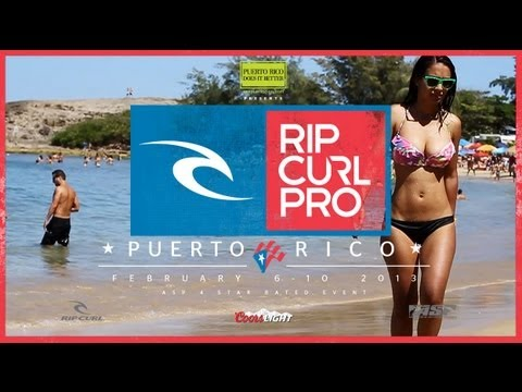 Rip Curl Pro Puerto Rico: Day #1 Highlights