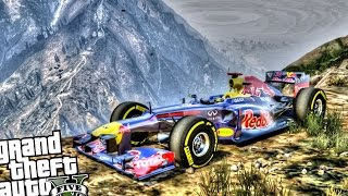 Fastest Car in The Game - GTA 5 PC MOD (Red Bull F1)