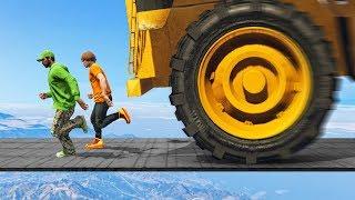 1000MPH TRUCK vs RUNNERS! - GTA 5 Funny Moments
