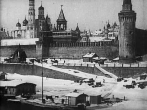 Москва в снегу 1908 (Moscow clad in snow).avi Video