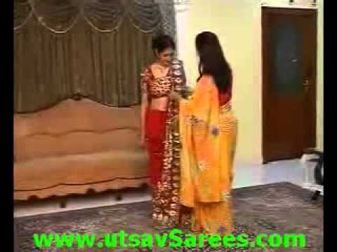 How to wear saree in Bengali Style.flv