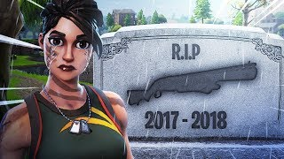 RIP pump shotgun..