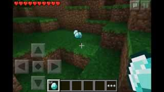 Minecraft PE 0.7.2 - Glitch - DUPLICAR DIAMANTE - No Jailbreak - no root