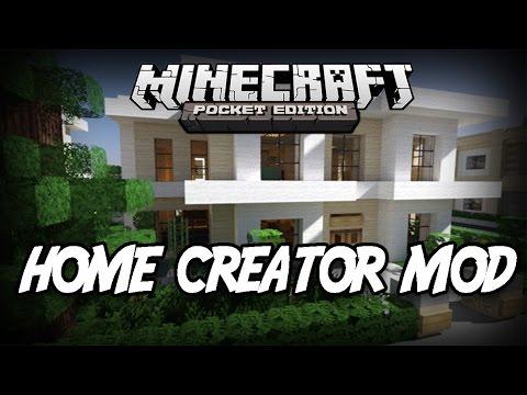 0.9.5 Minecraft PE: Mod Showcase Instant Home Creator