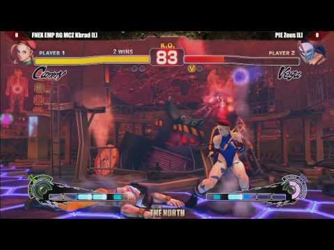 SSF4 AE2012 Grand Final FNEX EMP RG MCZ Kbrad vs PIE Zeus - Defend The North Tournament