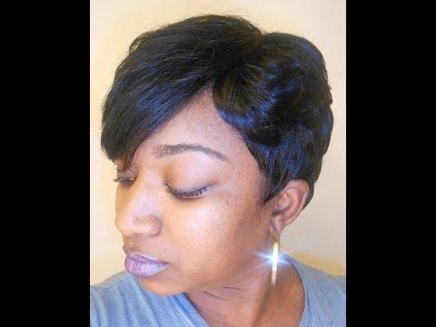 quick weave 27 piece hairstyles : 27 Piece Quick Weave-FGrogan - YouTube
