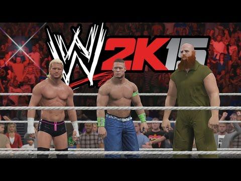 WWE 2K15 - Duelo de Equipos - Tag Team Match - Equipo Cena Vs Equipo Autoridad