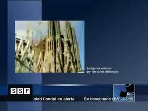 THE SAGRADA FAMILIA COLLAPSE!!!-SOSSAGRADAFAMILIA.ORG