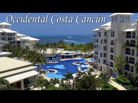 CANCUN │ MEXICO - Occidental Costa Cancún All-inclusive Resort. Most complete video review to date.