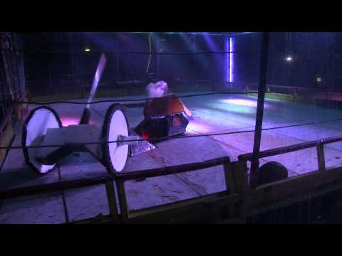 Robot Wars Colchester 2014 – Eruption vs Iron-Awe 7 vs Gabriel vs TR2