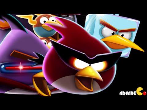 Angry Birds Space: Brass Hogs Level 9-M1 Mirror World Walkthrough 3 Star