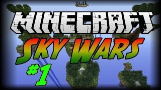 Türkçe Minecraft SkyWars #1 Adam Uçuyor