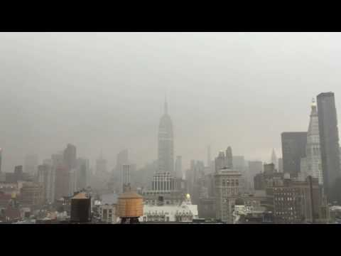CAUGHT ON CAM: Lightning strikes Empire State Building