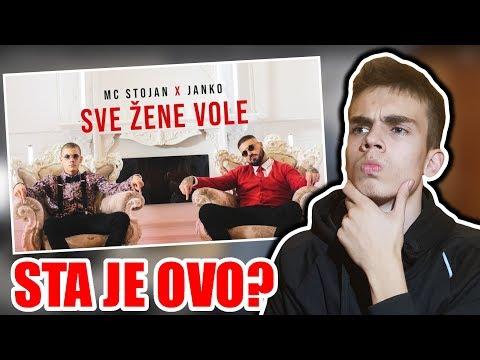 MC STOJAN - SVE ZENE VOLE (feat. JANKO) *REAKCIJA*