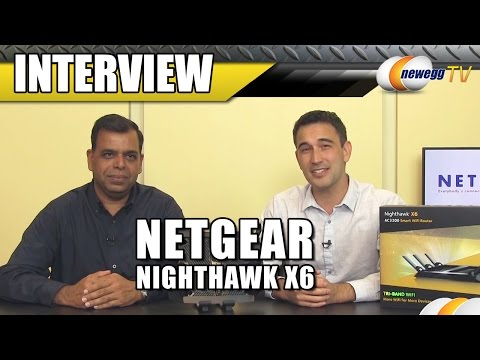 Netgear Nighthawk X6 R800 Smart Wi-Fi Router Interview - Newegg TV