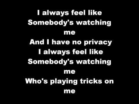 Rockwell - Somebody's Watching Me Lyrics video