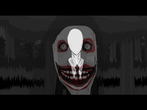 SLENDER MAN VS JEFF THE KILLER (ANIMACION HD CC)