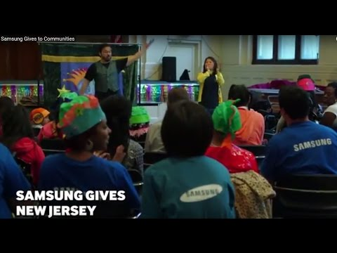 Samsung Gives to Communities