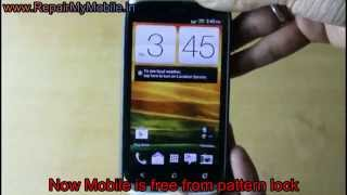 Hard Reset HTC Desire X Dual Sim to Remove Password