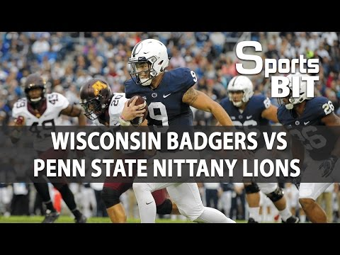 Wisconsin Badgers vs Penn State Nittany Lions | Sports BIT | College Football Picks & Preview