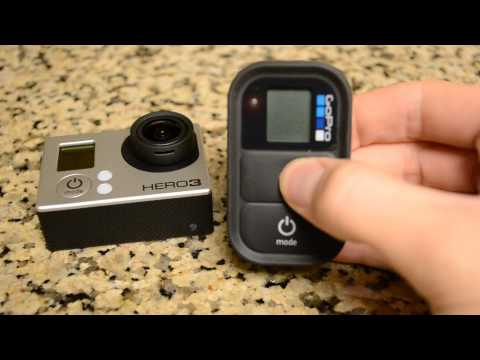 Connecting your GoPro HERO3 Wi-Fi Remote